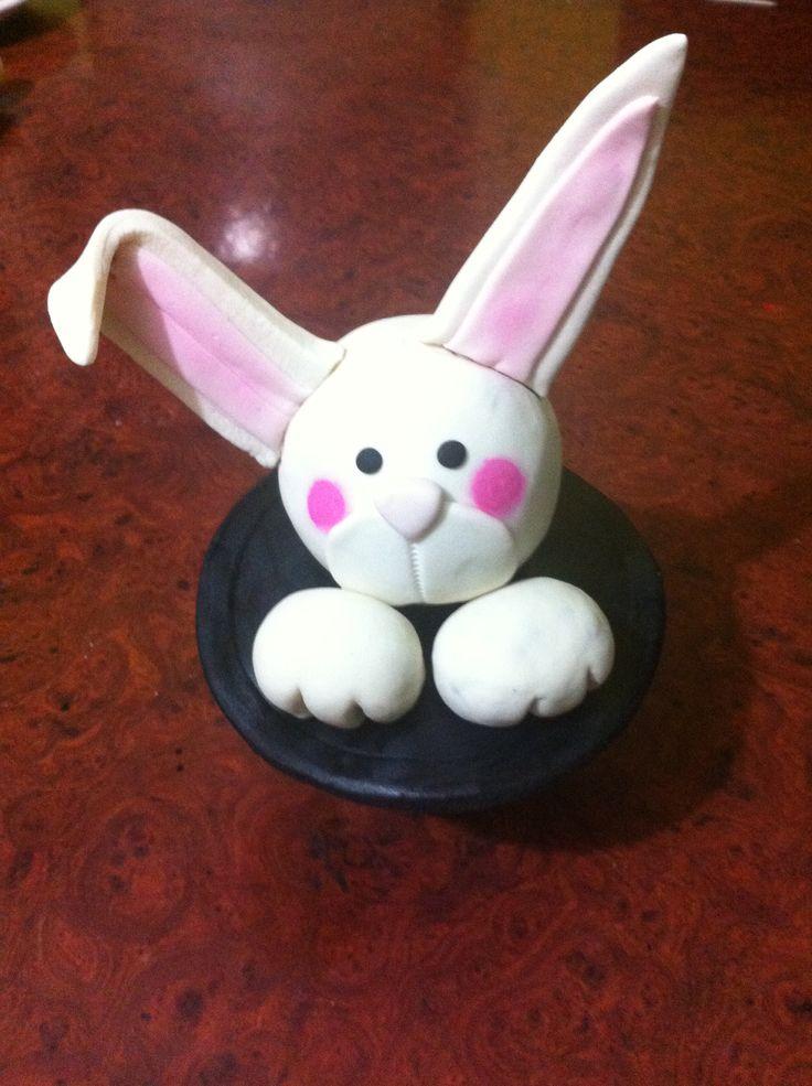 Conejo para pastel