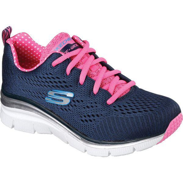 Go Walk Lite-Rise, Baskets Enfiler Femme, Rose (Pink), 36 EUSkechers