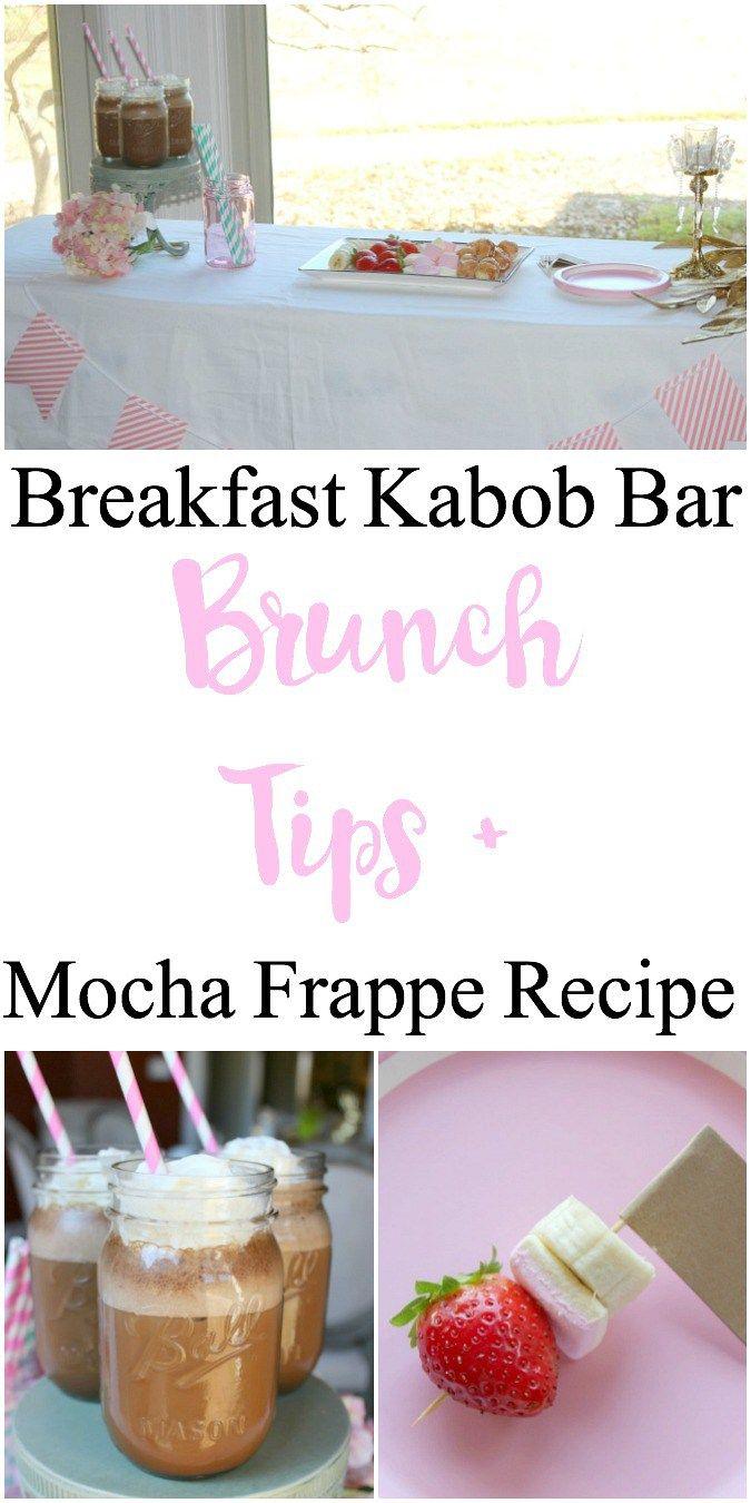 Brunch Tips and Mocha Frappe Recipe #ad #SilkSiptoSpoon @Walmart
