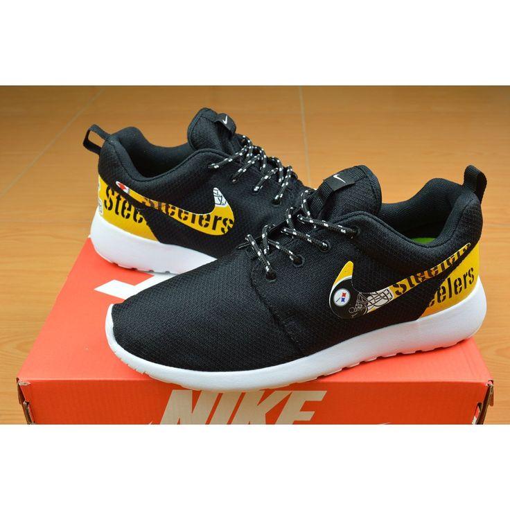 New Release Nike Roshe Run Pittsburgh Steelers Shoes