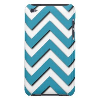 Fashionable, trendy and cool iPod Touch 4g case. Beautiful classic and contemporary aqua teal turquoise blue chevron zig zag stripes design. Vintage vector retro zigzag pattern. For the hip fashion trend setter, modern abstract geometric motif or nouveau deco art lover. Fun and cute birthday present or Christmas gift. Classy, and chic iPod cover cover for the girly girl or the elegant and sophisticated woman. Also for iPod 5G, iPhone 3 4 5, Samsung Galaxy S2 S3 S4, iPad 2 3 4, Droid Razr…