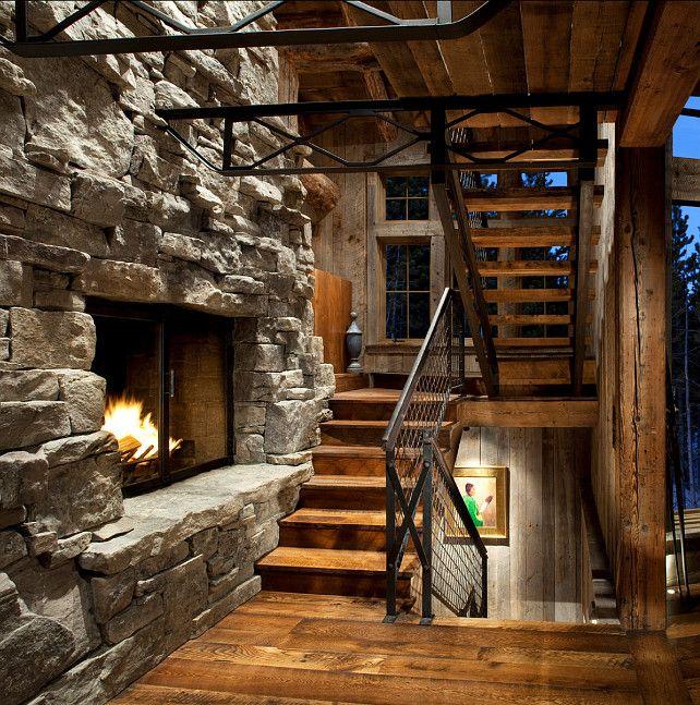 рустикальный стиль деревянного дома