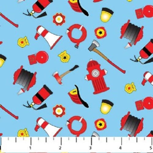 Dalmatian-Rescue-Northcott-Fabric-Quilt-Fire-Hydrant-Equipment-by-the-1-2-yd