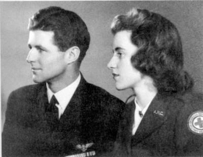 *JOSEPH P. KENNEDY, JR ~ 1915-1944) and KATHLEEN KENNEDY CAVENDISH (1920-1948), JFK's brother and sister closest to him in age.