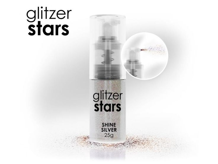 Gliz Star con dosatore 25ml  Shine Silver #originalnail,fai sapere che ci sei