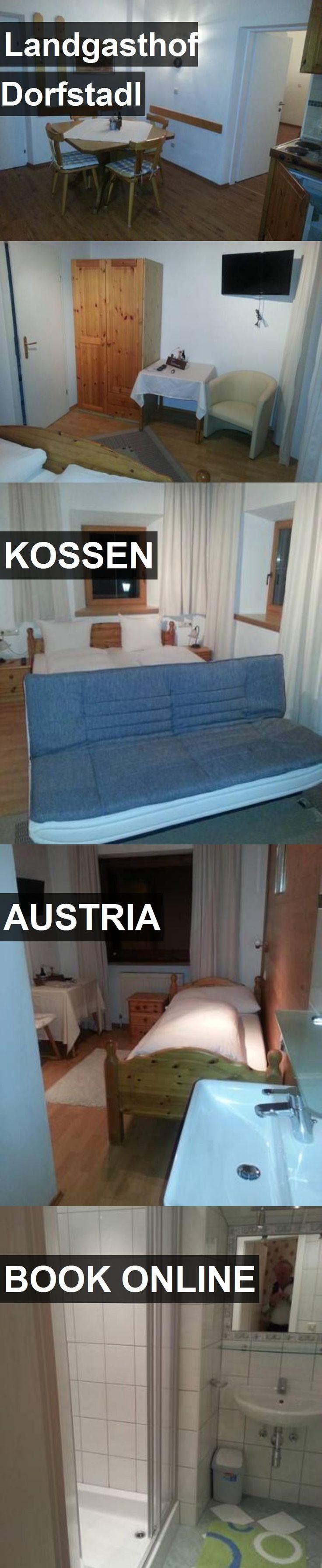 Hotel Landgasthof Dorfstadl in Kossen, Austria. For more information, photos, reviews and best prices please follow the link. #Austria #Kossen #travel #vacation #hotel