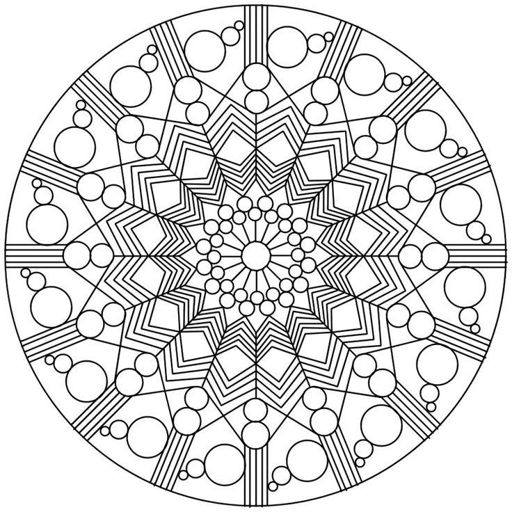 89 Sacred Mandala Coloring Book
