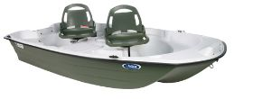Pelican Boats Predator 10.3 2-Person Fishing Boat