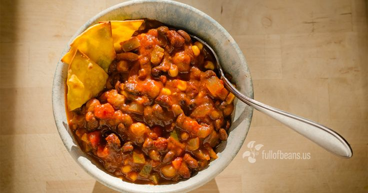 This vegan chili made appearances at fund raisers, family dinners and pot luck suppers, getting rave reviews. It's fast and simple to pull together!