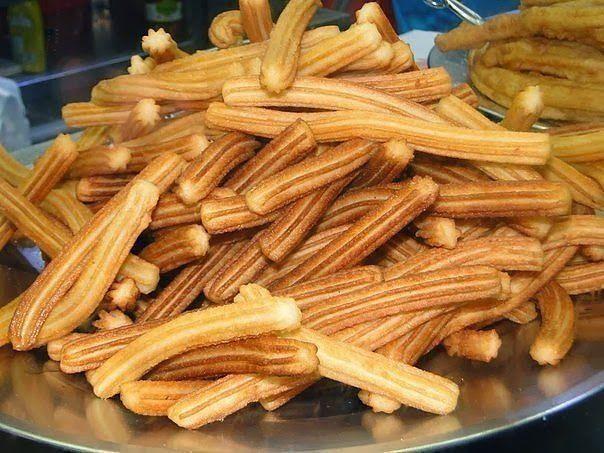 Испанские пончики Чуррос.