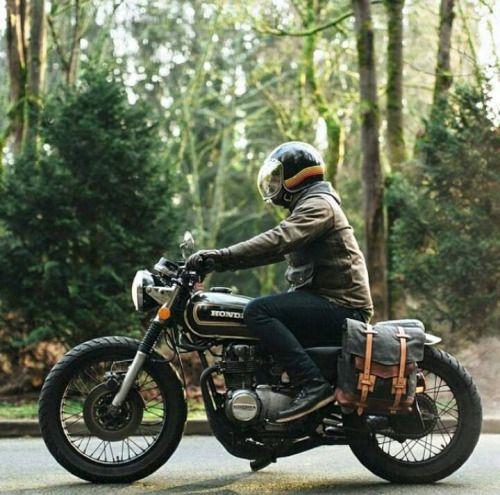 Honda Motorcycle | Motorcylces | cafe racer | Honda | classic | vintage | custom | chrome | ride | street | Schomp Honda