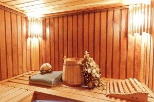 Basic sauna accessories