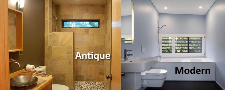 Which one is your choice – Antique designed bathroom or modern bathroom?