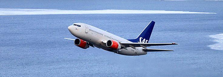 SAS SCANDINAVIAN AIRLINES  SK  B737-400 OSL TOS OSL