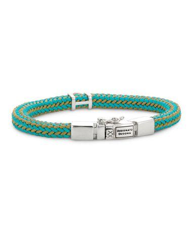 Blauwe Buddha to Buddha Denise armband shop je bij jouw favoriete sieraden webshop Sieradenloods (: