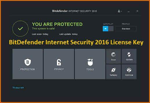 bitdefender internet security 2016 license key fullylicensekey pinterest. Black Bedroom Furniture Sets. Home Design Ideas
