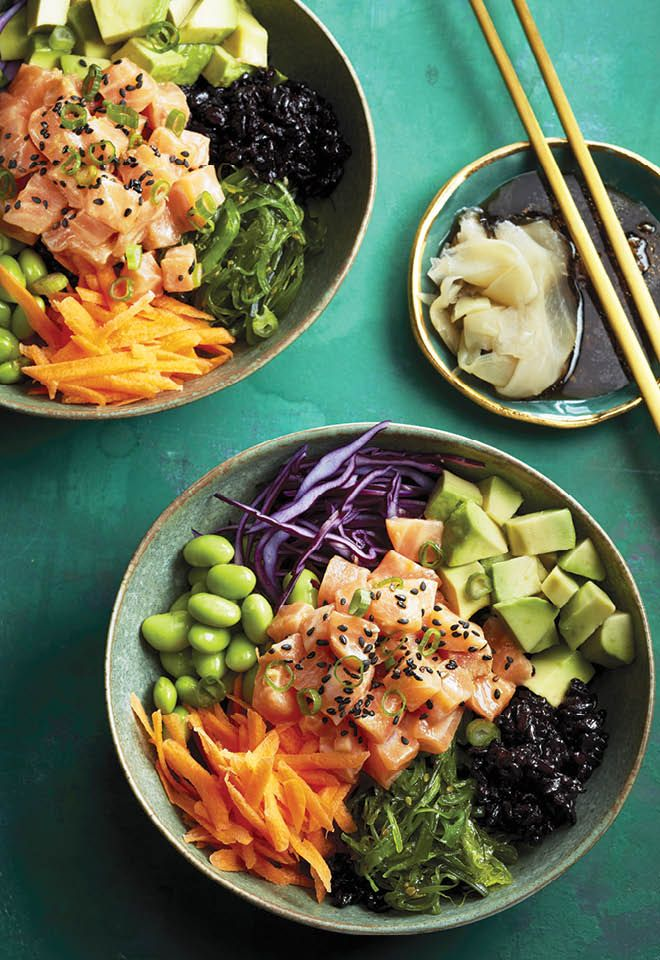 This Hawaiian dish is sweeping the nation. But don't let raw fish prevent you from trying to tasty meal at home. Get the recipe at Chatelaine.com.