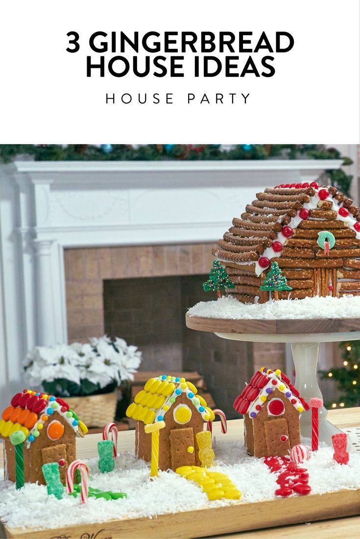 Easy Easier Easiest It S A Gingerbread House Party