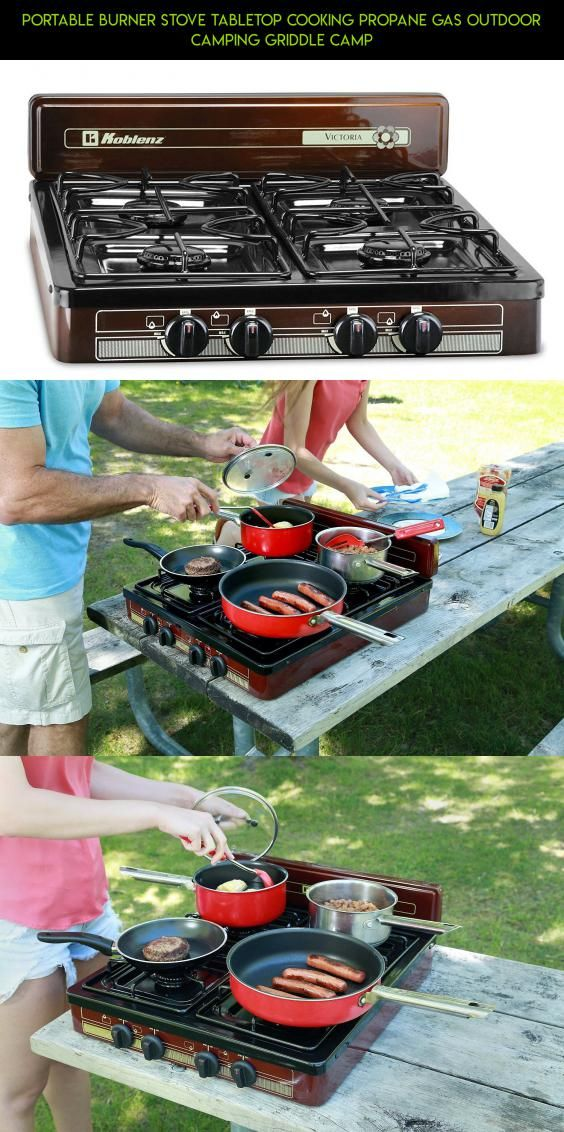 Portable Burner Stove Tabletop Cooking Propane Gas Outdoor Camping Griddle Camp #shopping #fpv #kit #camera #burner #gadgets #drone #racing #technology #outdoor #products #cooking #parts #plans #tech