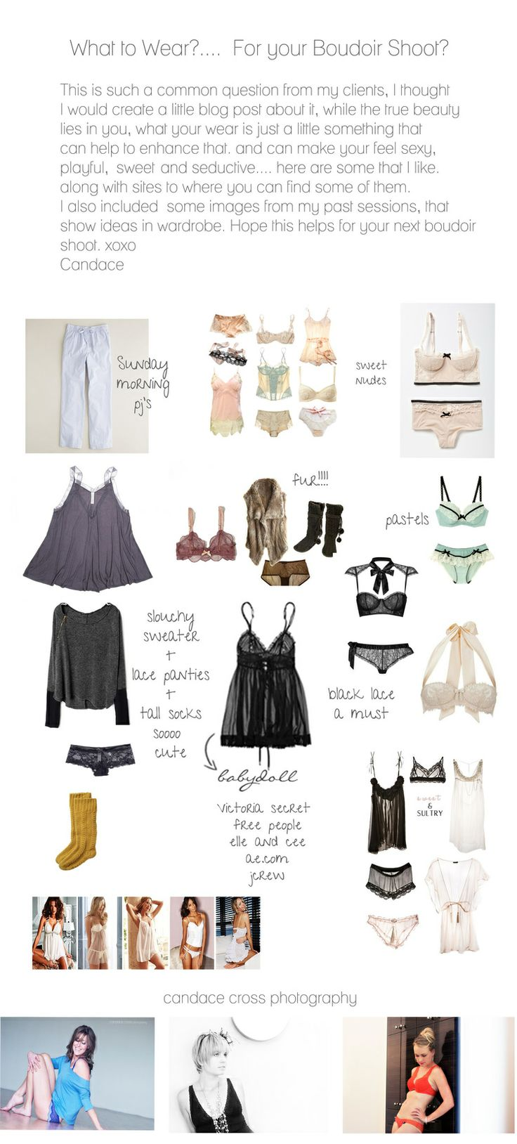 www.candacecrossphotography.com,what to wear, lingerie, boudoir, boudoir attire, boudoir photography, boudoir inspiration,