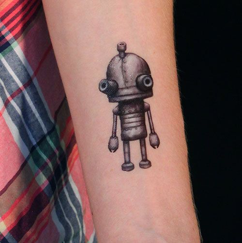 Hey, I found this really awesome Etsy listing at http://www.etsy.com/listing/164380687/robot-set-of-2-temporary-tattoos