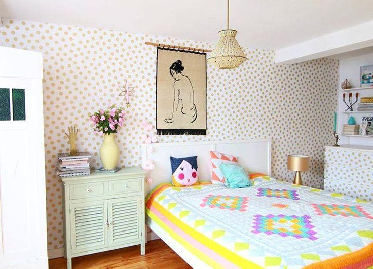 Julia Ballmaier (@myhomeismyhorst.de) auf Instagram: Schlafzimmer Styling