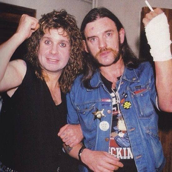 Metal Kings Ozzy Osbourne and Lemmy compare war wounds