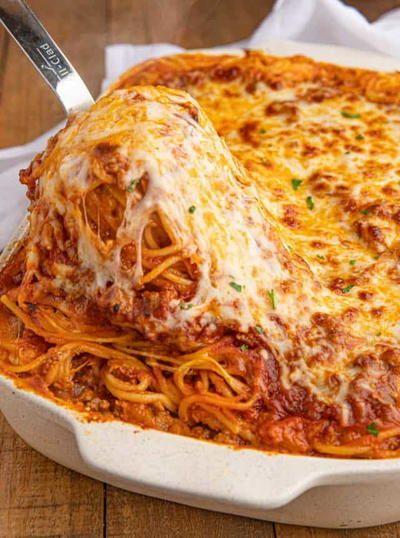 Baked Spaghetti – Essen