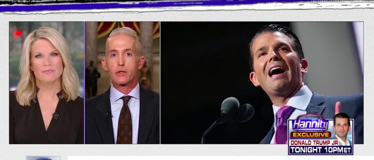 07-12-2017  Government Oversight Committee Chairman Trey Gowdy said Trump Jr's meeting with a Russian lawyer is concerning because itundermines the credibility of the Trump administration.    Speaking to Fox N