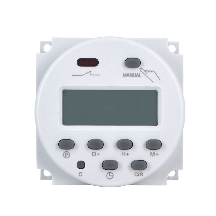 High Quality Worldwide LCD Digital Power Programmable Timer AC 7.5VA Time Relay Switch