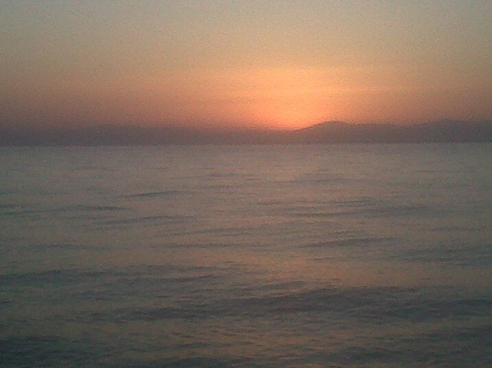 sunset. karambournaki- Thessaloniki