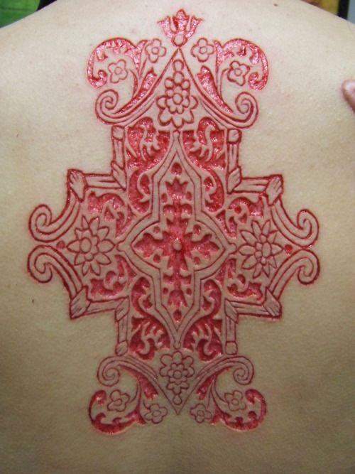 gorgeous intricate scarification