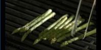 Asparagus on the grill.