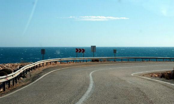 Approaching #Demrealong the D400 #Antalya to #Fethiye road