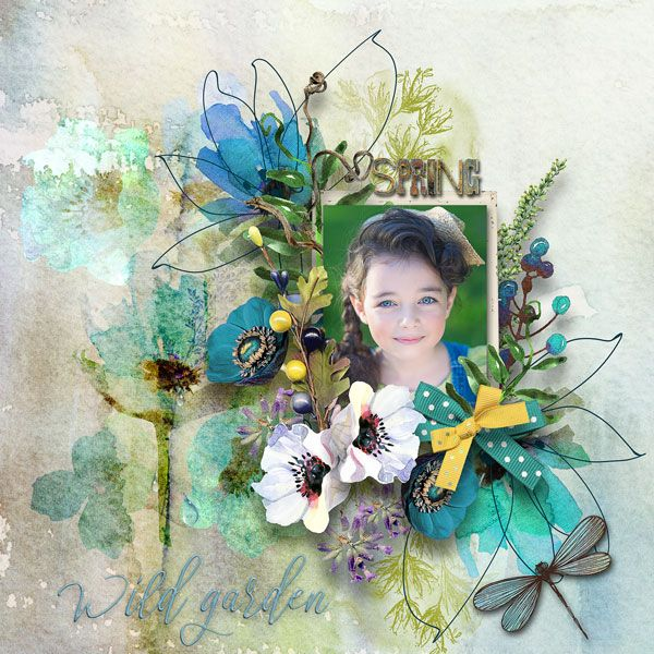 """NEW*NEW*NEW  """"Scent of Garden"""" Collection by et designs   http://www.thedigichick.com/shop/Scent-of-Garden-Collection.html  RAK for a friend  Fotka  Fotka  18.03.17  2 fotky - Zobrazit album"""