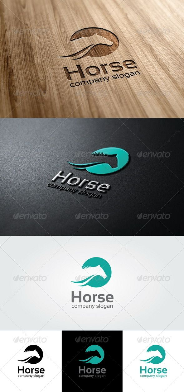 Horse Logo Template  - EPS Template • Only available here ➝ http://graphicriver.net/item/horse-logo-template/4667262?ref=pxcr