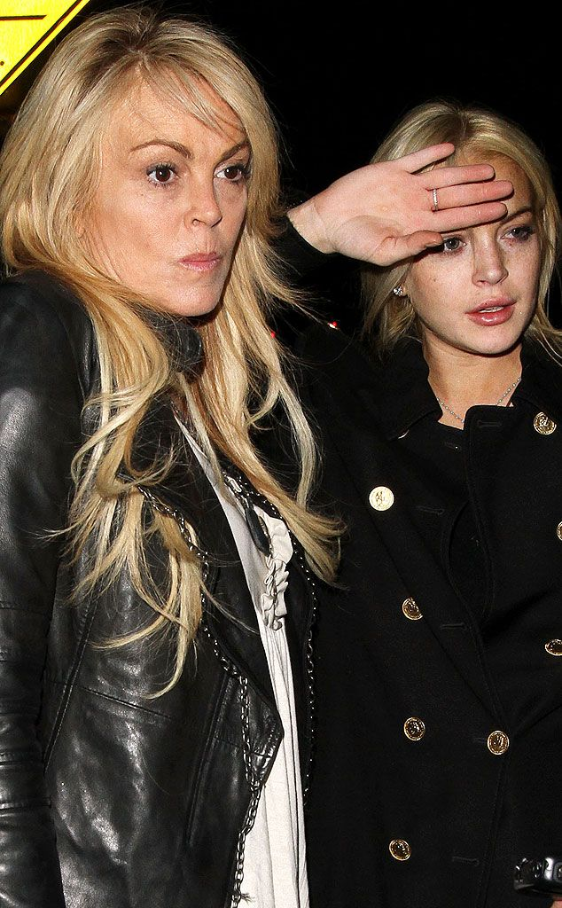 Lindsay Lohan and Mom Dina Lohan Sue Fox News for Crack About Them Doing Cocaine Together   E! Online Mobile