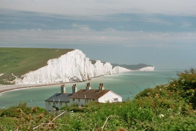 Seven Sisters near Brighton UK