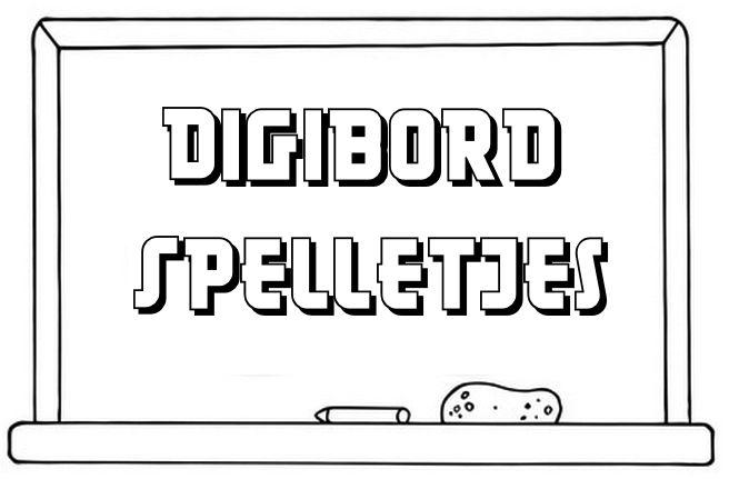 Digibord Spelletjes