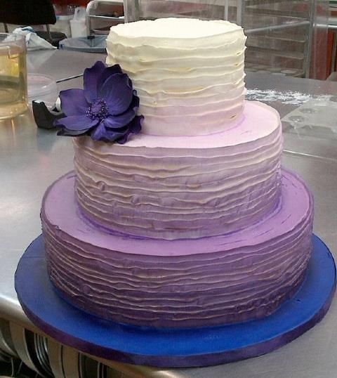 Purple Wedding Cake Ideas | Wedding Cakes Pictures