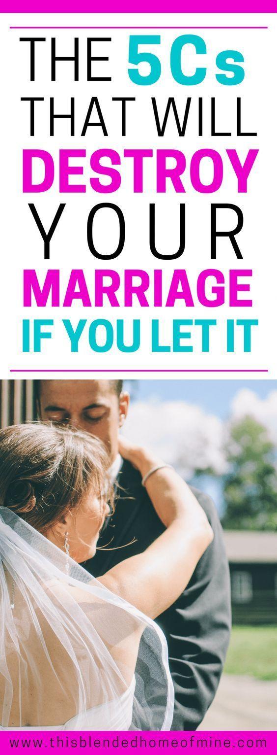 5 C's que destruirão seu casamento   – Marriage Problems