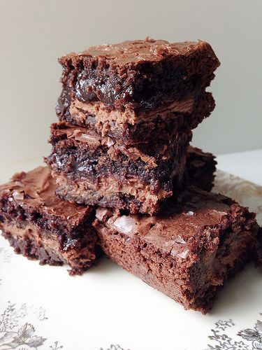 Symphony Brownies - dangerously yummy looking!