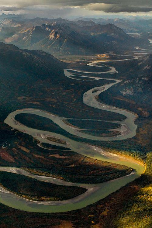 Alatna River, Alaska - meander
