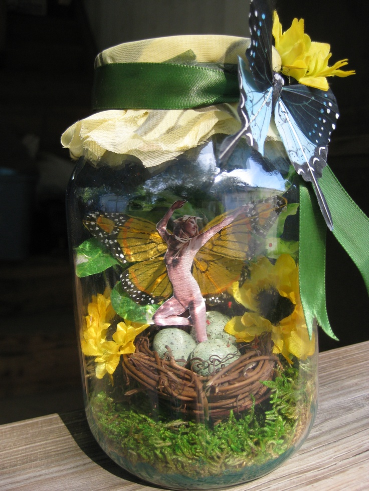 45 Best Images About Fairy Jars And Things On Pinterest