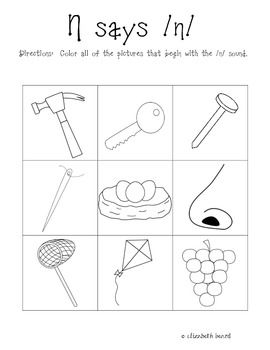 letter n alphabet activities at enchantedlearning activities for the letter n kindergarten 1000 ideas 503
