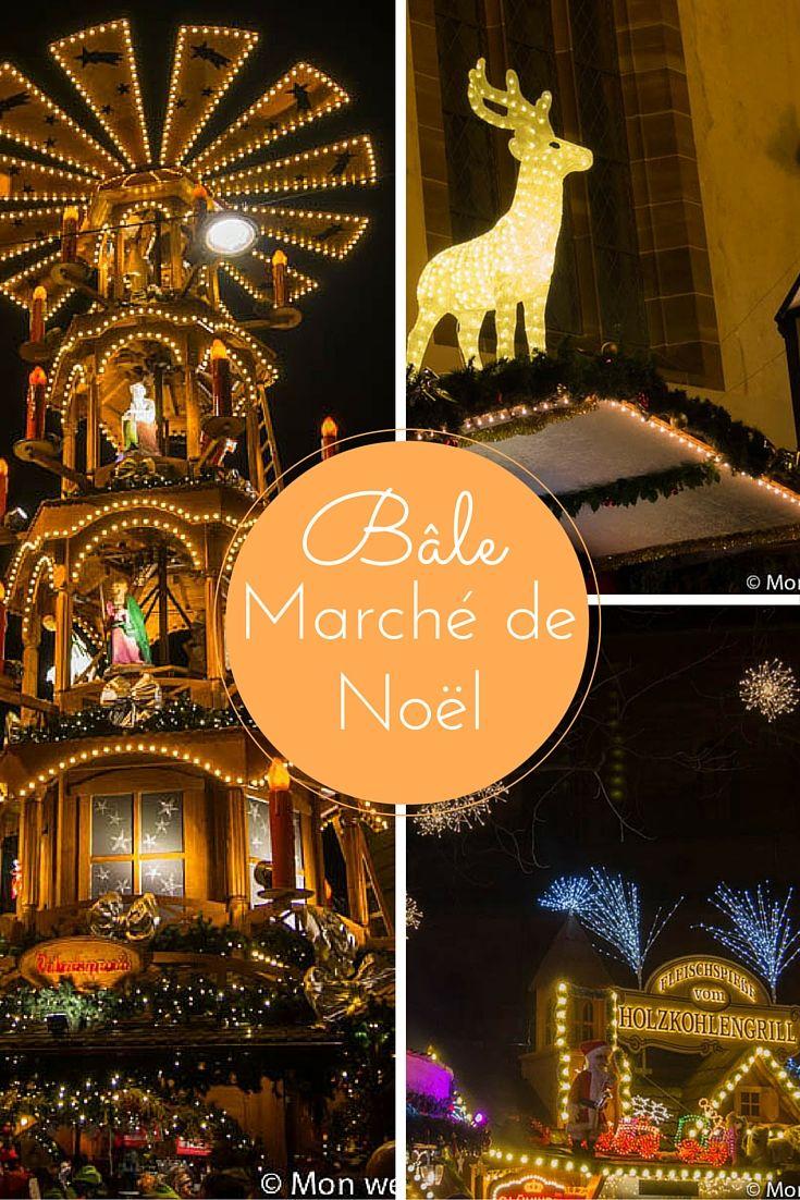 Marché de Noël de Bâle en Suisse