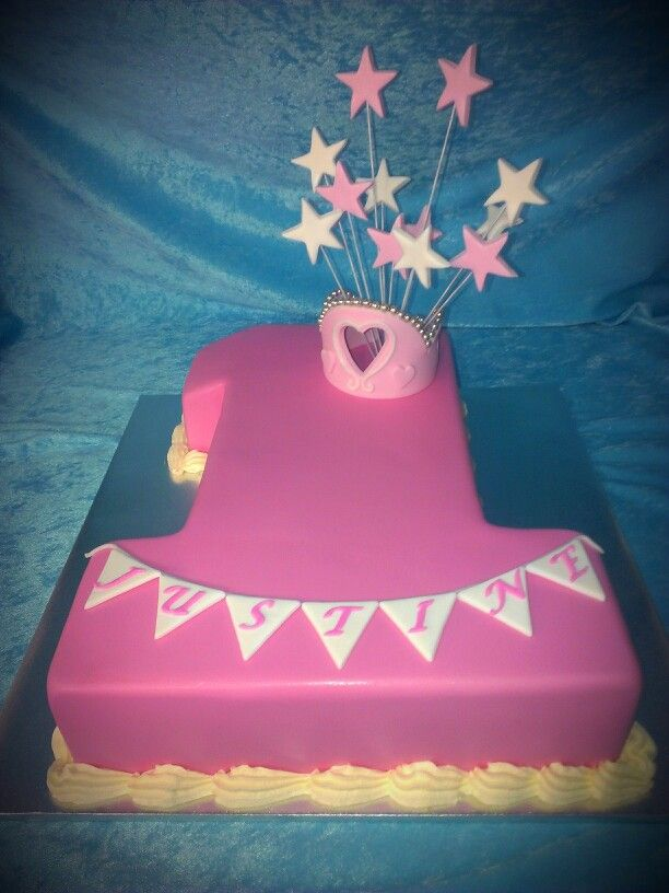 147 best Cakes: 1st birthday cakes images on Pinterest ...