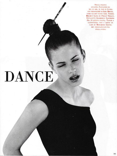 Vogue Italia | Dance — Corinne Day Photographer