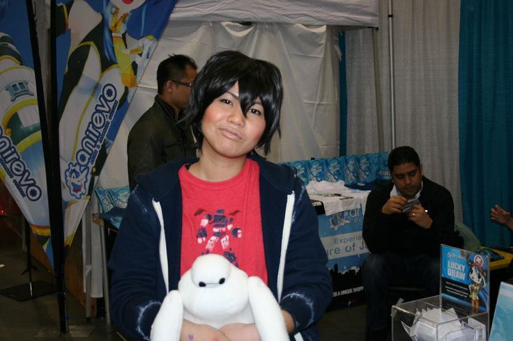 Awesome Hiro cosplay from the anirevo booth!!  I got my ticket Have you?