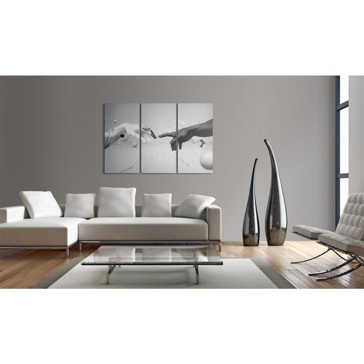 A dla fanów minimalizmu, polecamy czarno-biały, elegancki tryptyk #obraz #obrazy #tryptyk #czerńibiel #nowoczesny #minimalizm #artgeist